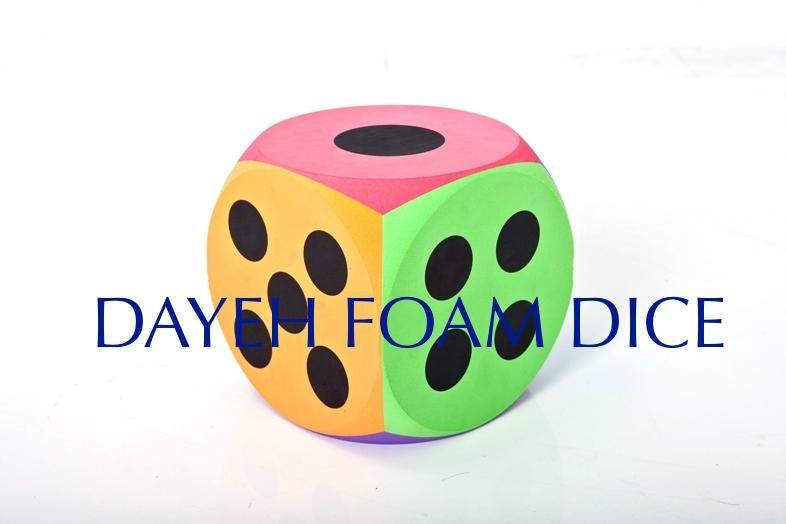 EVA 泡綿圓角大骰子-20 cm , 點數1-6 2