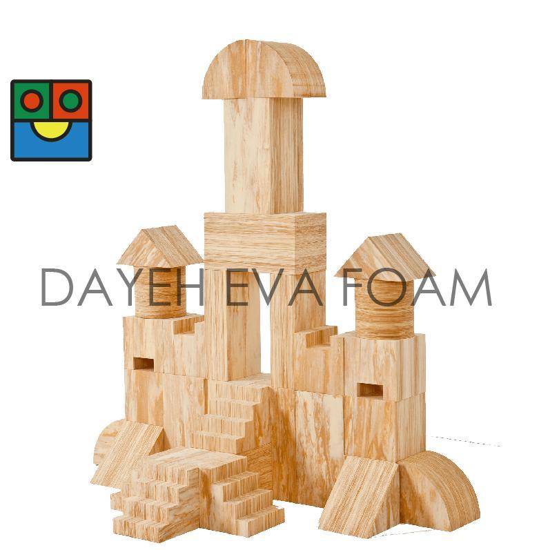 EVA castle building block -34 pcs
