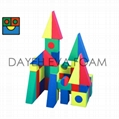 Jumbo  Colorful EVA Foam Building Blocks,  56 piece 2