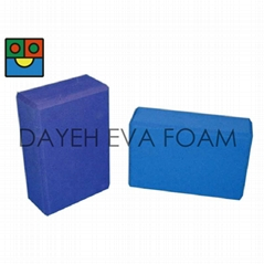 EVA Exercise Fitness Single Color  Yoga Bricks ,3x6x9inch