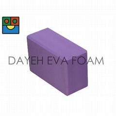 EVA Exercise Fitness Single Color  Yoga Bricks ,4x6x9inch