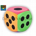 Giant Curved EVA Foam Dice-20 cm , Dots