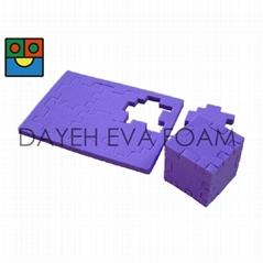 3-D Foam Puzzle cube