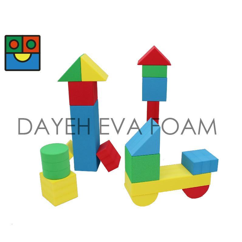 EVA 兒童趣味大積木,12cm, 8pcs 1