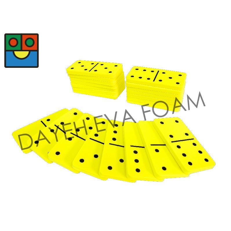 EVA Foam Dominoes,Double-six, Set of 28 piece 1