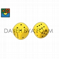 Elastic Curved EVA Foam Dice,5 cm, Dots