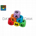 Elastic Curved EVA Foam Educational Dice