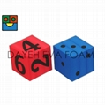 Jumbo EVA Foam Dice set- 12 cm , Dots /