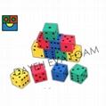 EVA Foam Dice - 4 cm , Dots 1-6