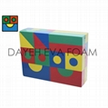 Textured Colorful EVA Foam Block, 40pcs