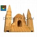 EVA木紋城堡積木-46pcs