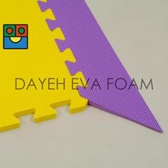"""EVA Foam Mat Borders, Slope,  24"""" X 24"""""""