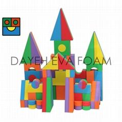 Jumbo  Colorful EVA Foam