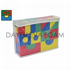 Creative Colorful  EVA Foam Building Block,4cm,40piece