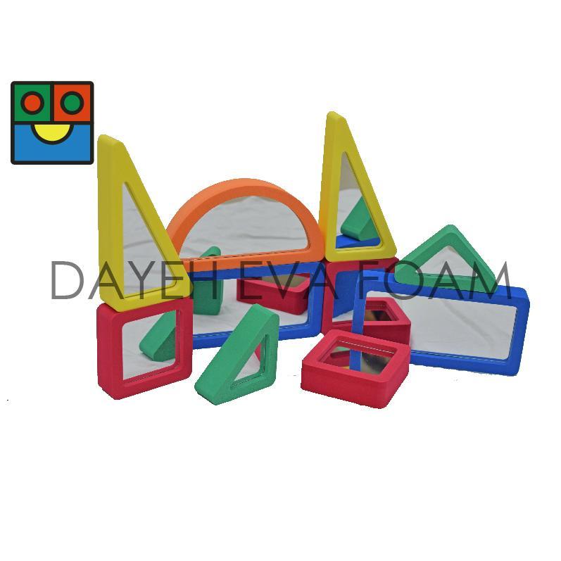 ELM002 Mirrored blocks