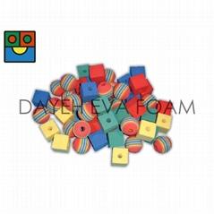 EVA Foam Lacing Beads set