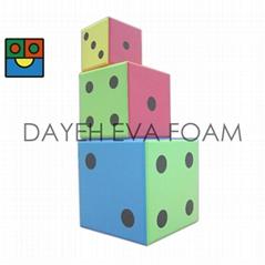 EVA 泡绵大骰子-30 cm , 点数1-6