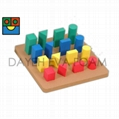 EVA Foam Geometric Sorting Play board,
