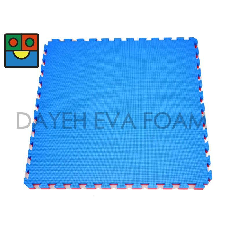 Reversible EVA Foam Judo Mat,100cm x 100 cm, 40 mm - Taiwan -