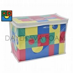 EVA Color Building Block,Formamide Free, Set of 68