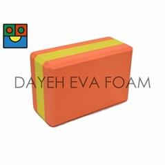"""EVA 瑜珈砖,4""""x6""""x9"""""""