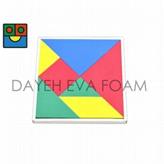 Giant Tangram, EVA Foam  with magnet