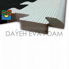 EVA Foam Mat Border, rounder edge