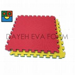 EVA Foam Play Mat,62 x 62 cm, 可翻面结合使用