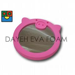 EVA Foam Animal Mirror, Pig