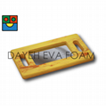 EVA Foam Wood-like Handle Mirror