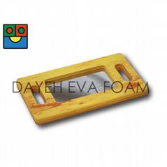 EVA Foam Wood-like Handle Mirror