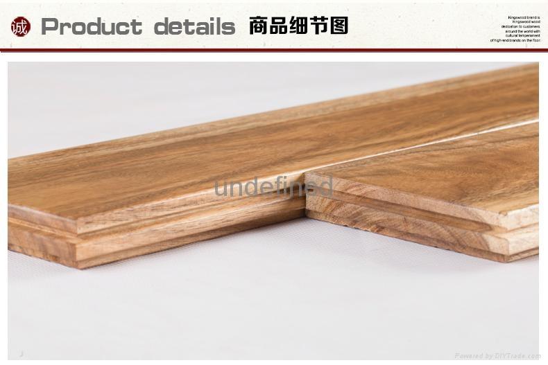 Acacia wood real wood floor 4