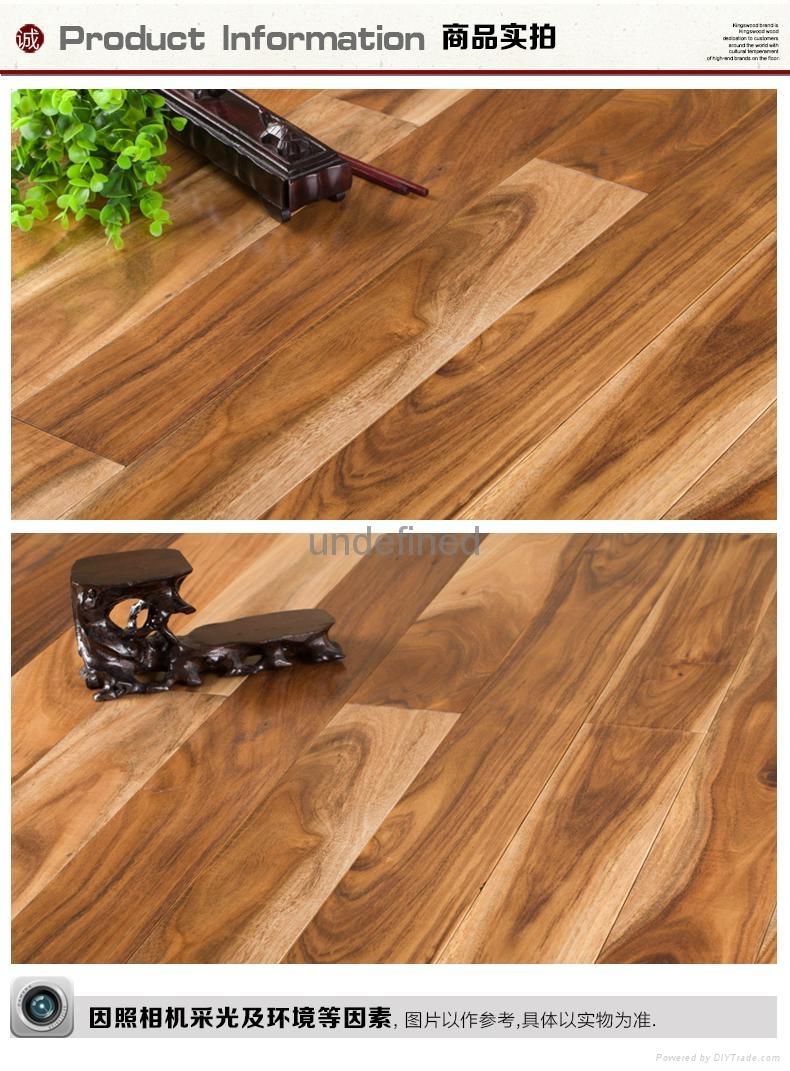 Acacia wood real wood floor 1