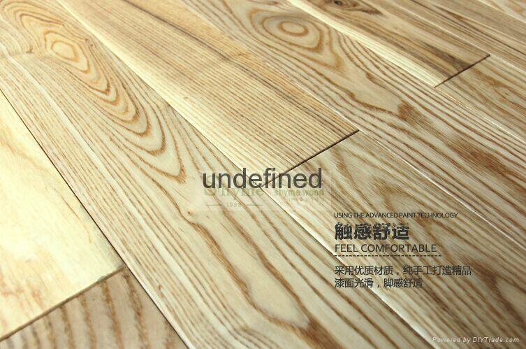 Supply Ash wood flooring 1