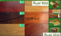 Maple wood fire retardant antique floor