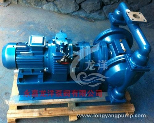 DBY铝合金电动隔膜泵  1