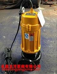 QW移动式高效无堵塞排污泵