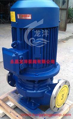 ISG单级单吸立式管道泵  1