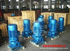 IRG單級單吸熱水管道泵