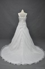 Flower Special Mermaid Wedding Dress Bandage Lacing Bridal Vestido De Noiva