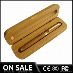 Hotsale bamboo pen wood pen set gift pen