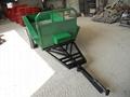 walking tractor, mini four wheel tractor 2 ton farm trailer 2