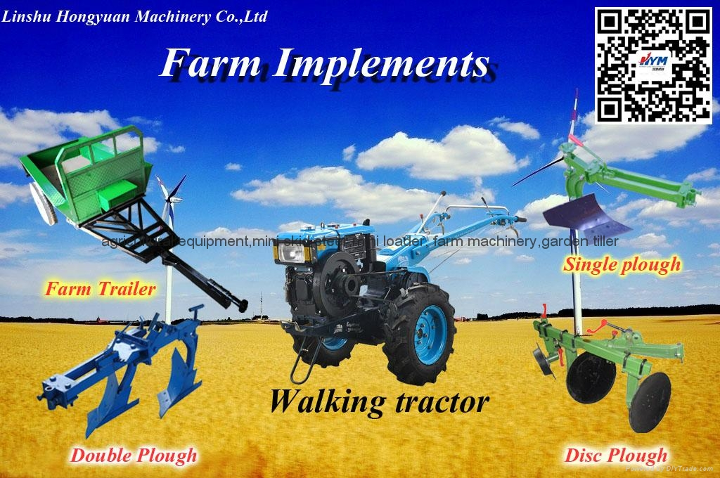 farm implements for walking tractor 1