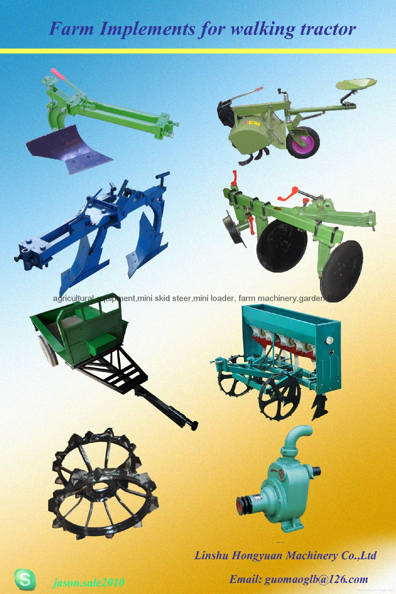 farm implements for walking tractor 2