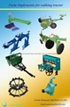 walking tractor, mini four wheel tractor 2 ton farm trailer 1