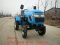 mini four wheel tractor,12/15hp