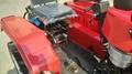 mini four wheel tractor,12/15hp 5