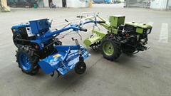 8hp China farm walking tractor, hand