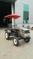 Ukraine and Russia market mini four wheel tractor,12/15hp 2