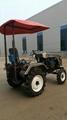 Ukraine and Russia market mini four wheel tractor,12/15hp 3